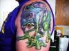 Baddest Frog In The Pond tattoo
