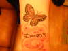 butterfly memorial tattoo