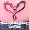 Dragon Love tattoo