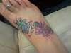 re-done foot tat tattoo