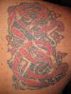 CELTIC DESIGN tattoo