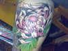 flower by derek campbell tattoo