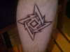 Metallica Ninja Star tattoo
