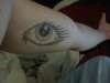 Woman's Eye, Inner Arm tattoo