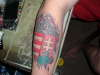 Hungarian crest tattoo