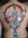 Carnival Clown tattoo