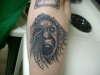 Insane Hunter tattoo