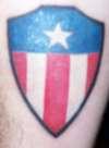 Shield tattoo