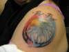 Eagle tat for my dad tattoo