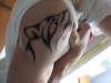 Wolf Howling tattoo