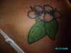 Tea Leafs and Flowers tattoo