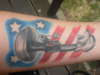 Tribute to my fallen battles tattoo