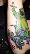 Part of my NBC sleeve tattoo