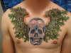 Husband's Chest Piece tattoo