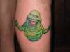 Slimer tattoo tattoo