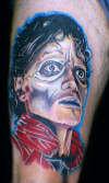 michael jackson tattoo