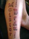 tribute to Grand dad tattoo