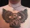 Evil Egg Timer tattoo