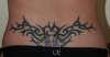 Lower Back Tribal Tattoo tattoo