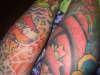 my legs tattoo