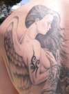 Angel Top Back tattoo
