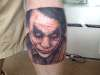 Keith Ledger - the Joker tattoo
