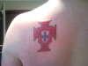 Portuguese Cross tattoo
