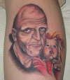 Michael Berryman tattoo