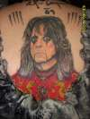 "Alice Cooper ""Dragontown"" tattoo"