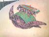 Discworld - Great A'tuin tattoo