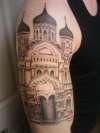 Russian Church #3 tattoo