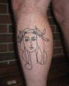 Picasso sketch tattoo