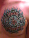 FAIR LAWN FIRE DEPARTMENT tattoo