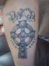 A Fitting Tribute - Cross tattoo