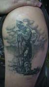 DEATH DEALER tattoo