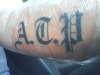 Dads Initials tattoo