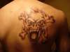Smoked Out Skull tattoo