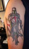 Knights templar / crusader knight tattoo