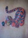 Tigger tattoo
