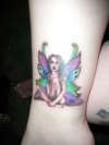 My newest fairy tattoo