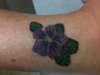 Girlfriends Violet tattoo