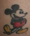 Mickey old tattoo