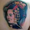 giesha girl 2 tattoo