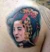 giesha girl tattoo