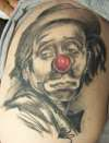 Emmett Kelly tattoo